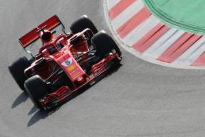 "Vettel uncertain on Ferrari pace after ""tough"" week"
