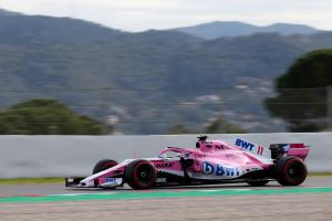 Perez sure gap to F1's big three is smaller in 2018