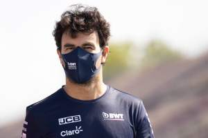 Perez confident of Racing Point F1 stay amid Vettel rumours