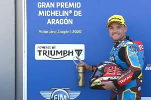 Sam Lowes, Moto2, Aragon MotoGP. 17 October 2020