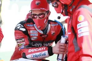 Andrea Dovizioso , MotoGP race, Aragon MotoGP. 18 October 2020