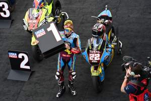 Teruel Moto2: Three-in-a-row for impeccable Lowes