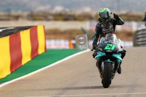 Franco Morbidelli, MotoGP race. Teruel MotoGP. 25 October 2020