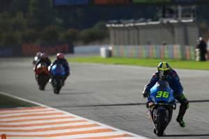 MotoGP Eropa: Kemenangan pertama Mir menempatkan saingan gelar di tepi tali