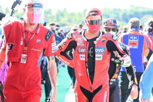 Danilo Petrucci, Valencia MotoGP race, 15 November 2020
