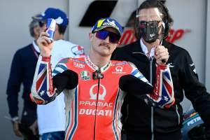 Jack Miller, Valencia MotoGP race, 15 November 2020