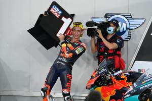 Moto3 Doha: Acosta amazes with maiden win from pit lane