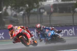 MotoGP Prancis: Mimpi Buruk Suzuki di Trek Basah Le Mans