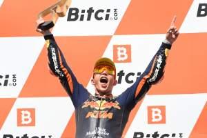 Austrian Moto2: Raul Fernandez pulls the pin to win rookie battle