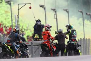 Rossi: 'Exciting, unbelievable race', surprise podium chance