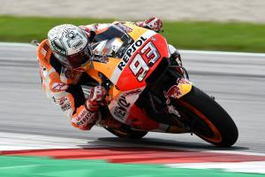 Marquez leads Pirro in FP1