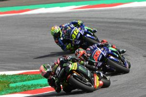 Vinales: Zarco would push the bike, try to beat us!