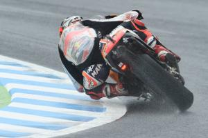 Marquez leads warm-up, Vinales breakthrough