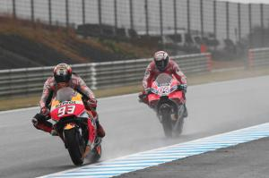 Marquez fast in wet because 'I believe'