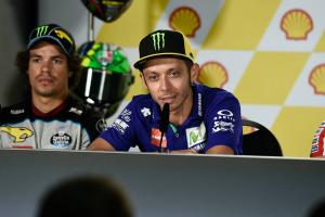 Rossi not so confident over wet race prospects