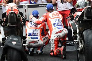Dovizioso: Jorge a good team-mate, unlike some!