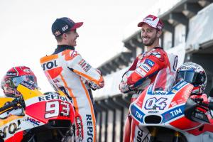 Dovizioso no longer the dark horse: 'It's positive'