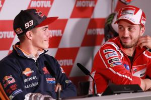 Marquez: Dovi a great guy but no friends on the track