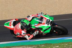 Laverty: It was the opposite bike!