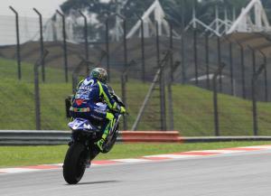 Rossi: It'd be like a Moto3 race…