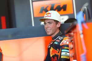 Moto3: Darryn Binder makes KTM debut