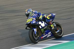 Rossi: We are 'correlated' to the rear tyre