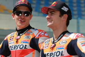 Marquez, Pedrosa happy to be heading home