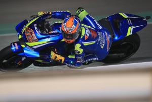 Rins sets sights on the front after best qualifying