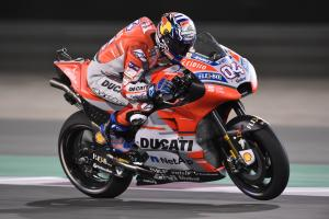 Dovizioso shrugs off qualifying, 'maybe' pre-race favourite