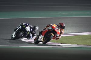 Marquez rockets to the top with Qatar MotoGP lap record