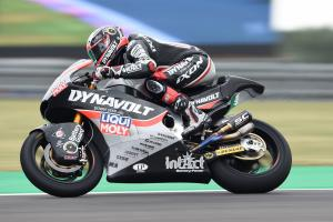 Moto2 Argentina: Vierge braves the rain to snatch late pole