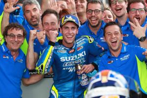 "Rins relishes maiden MotoGP podium, first win ""close"""