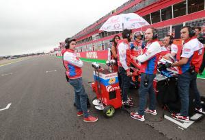 Miller sat alone after grid chaos, leads 'bittersweet race'