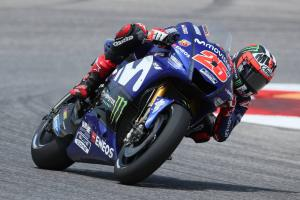 Electronics change pushes Vinales forward