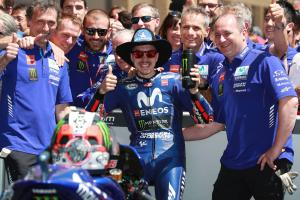 'We're coming!' – Vinales celebrates podium return