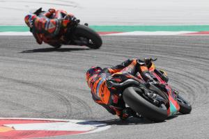 KTM happy with points from hard weekend