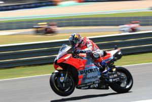 Eighth 'only negative' after Dovizioso salvages Saturday