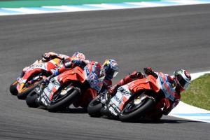 Chain Reaction: Lorenzo, Pedrosa, Dovizioso skittled in Spain