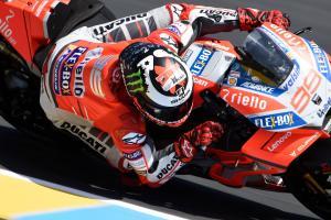 "Lorenzo opts for ""evolution"" 2018 Ducati frame"