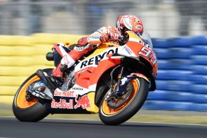 Marquez explains high crash rate at Le Mans