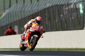 Marquez seeks positives from 'difficult' race, first fall in year