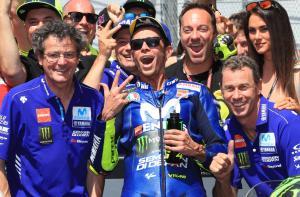Rossi ignores MotoGP title fight until Yamaha wins return