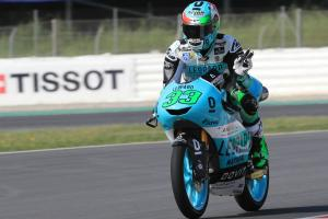 Moto3: Bastianini wins crash filled race
