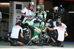 Honda happy with Crutchlow role