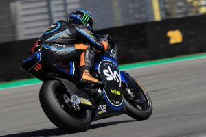Moto2 Brno: Early pace gives Marini maiden pole
