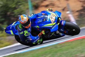 Rins: Carbon Suzuki chassis 'looks good'