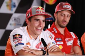 Marquez hints at 'something interesting' from Brno test