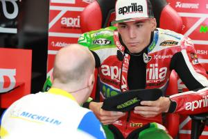 Espargaro: My wheels started to slide, float