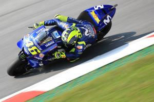 Rossi tried 'set-ups, electronics' at Misano test