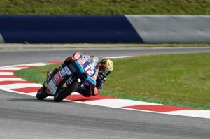 Moto3 Austria: Bezzecchi beats injured Martin for pole